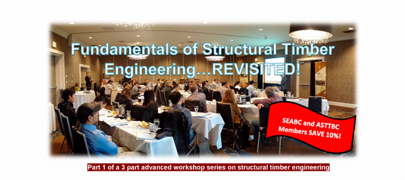 Structural Timber Engineering Workshop – Victoria
