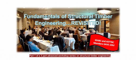 Structural Timber Engineering Workshop – Richmond