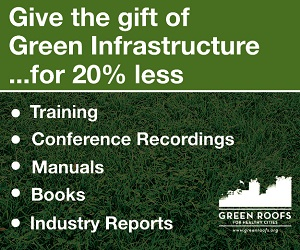 Green Roofs Holiday Discount – Box
