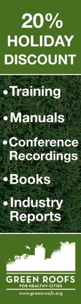 Green Roofs Holiday Discount – Skyscraper