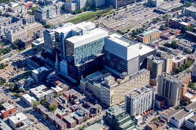 Pomerleau to replace Construction Santé Montréal on the