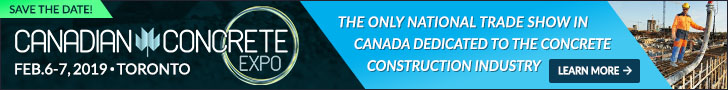 Canadian Concrete Expo 2019 LeaderBoard