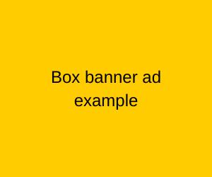Box-banner
