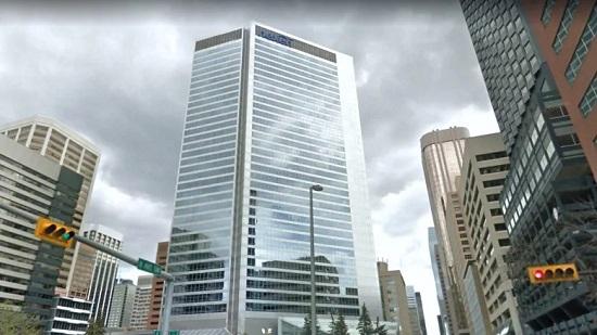 Calgary office buildings empty