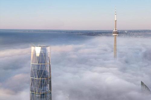 Toronto condo building tallest in Canada