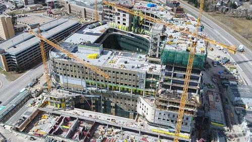 calgary cancer centre construction