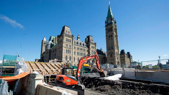 Commons board recommending $733M plan to build Parliament Hill visitors centre