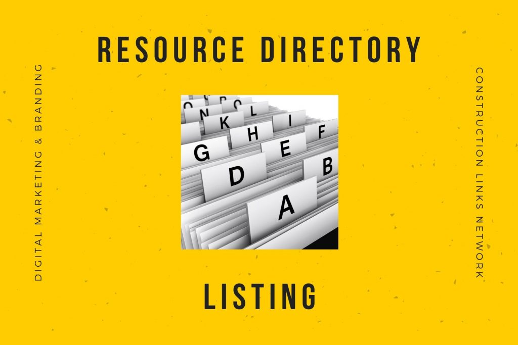 Resource Directory - media kit