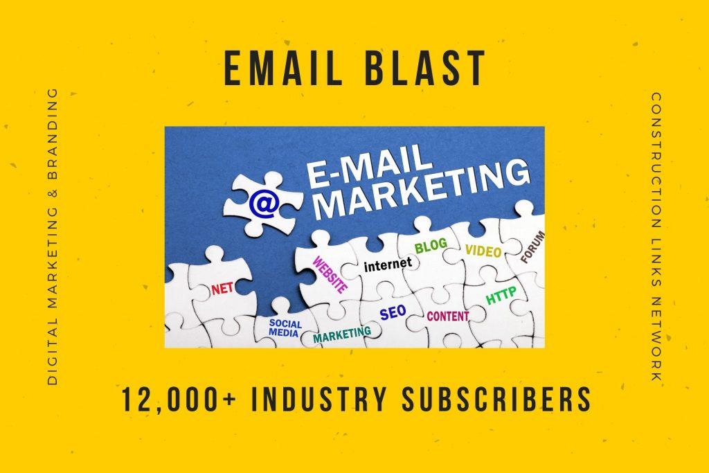 email blast - media kit