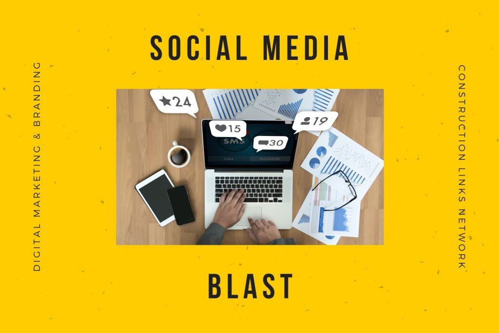 social media blast - media kit