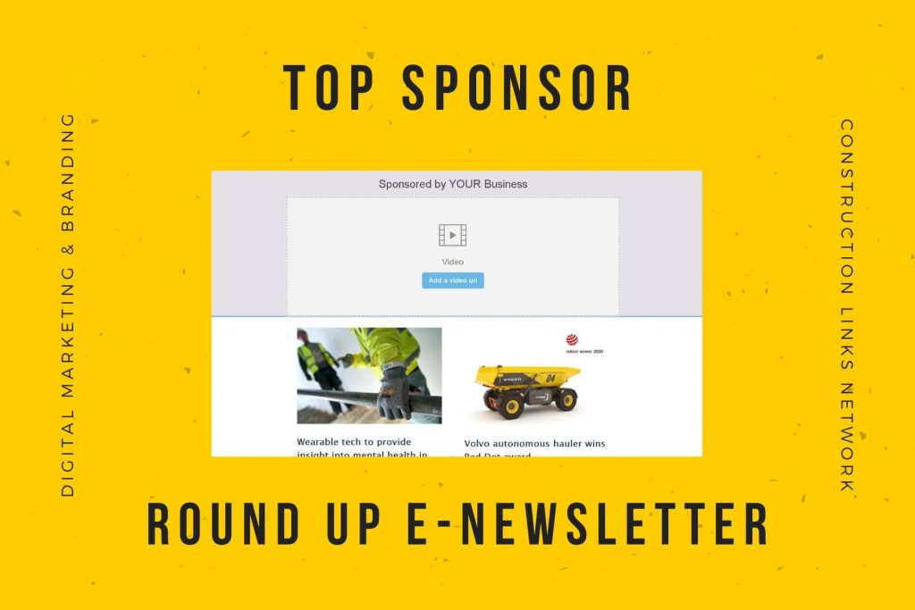 top newsletter sponsor - media kit