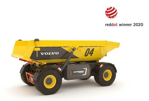 volvo-autonomous-electric-load-carrier-wins-red-dot-2020-award