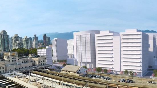 B.C. hospital construction