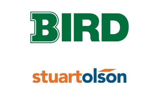 Bird and Stuart Olson