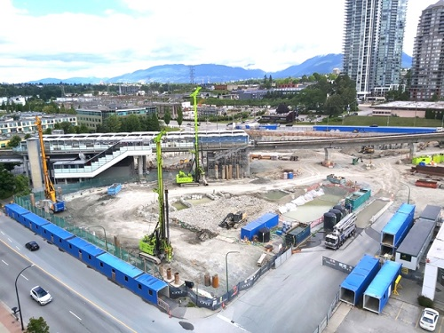Burnaby's biggest construction project