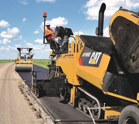 Finning asphalt