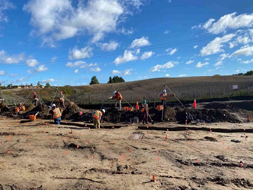 35,000 Indigenous artifacts discovered at Fischer-Hallman construction site