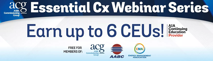 ACG Essential Cx Webinars