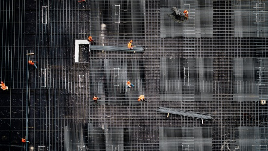 AI that scans a construction site can spot when things are falling behind