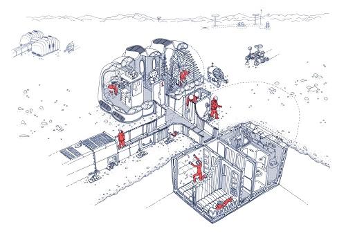 Polar architecture experts are building experimental Mars habitat