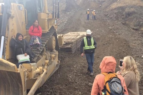 RCMP arrest at least one person at Trans Mountain worksite in Kamloops