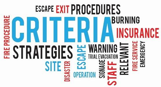 Relevant Emergency Evacuation Procedures