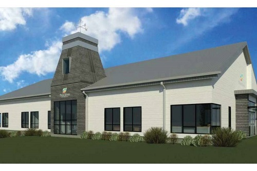 Replacement design for Montague's scorched town hall is 'first-class,' mayor says