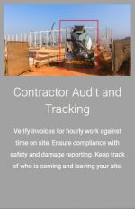 Contractor Audit and Tracking