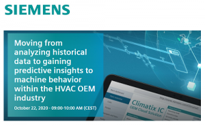insights to machine behavior within the HVAC OEM industry