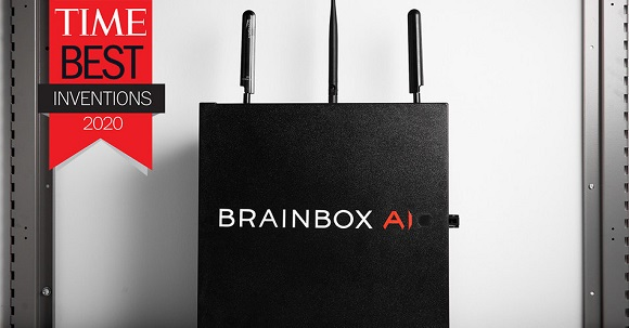 BrainBox AI-Canadian company BrainBox AI Recognized by TIME as a
