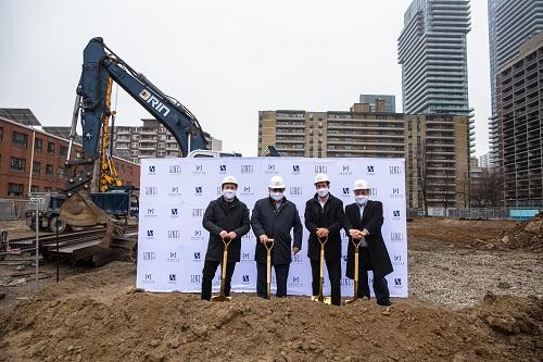 Reserve Properties and Westdale Properties break ground on Line 5