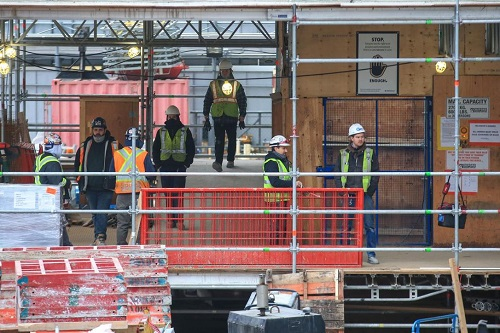 construction projects can continue in Ontario