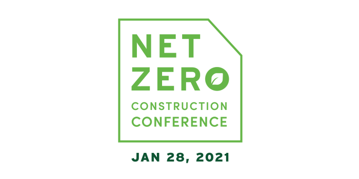 net zero construction conference