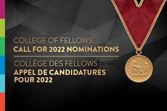 College of Fellows nomination 2022