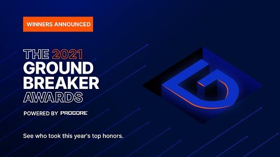 Procore awards 2021
